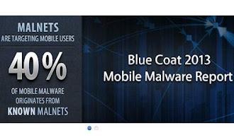 BlueCoat 2013 Blue Coat: las amenazas de seguridad a móviles aumentarán en 2013