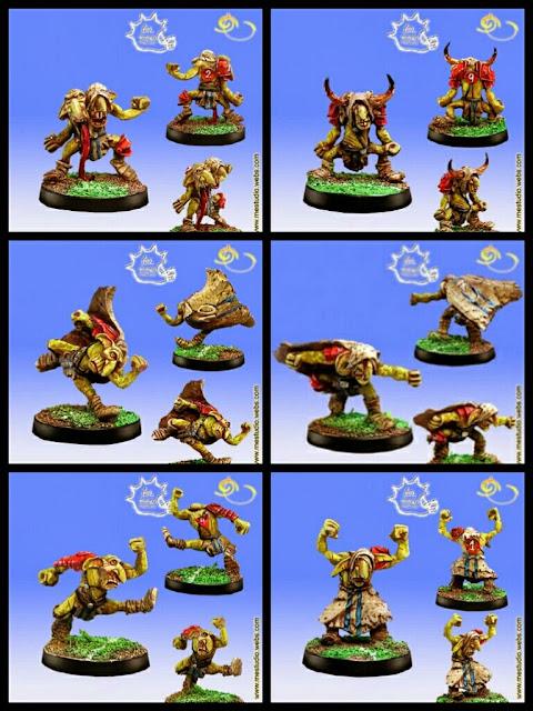 Goblins Inframundo Blood Bowl Meiko