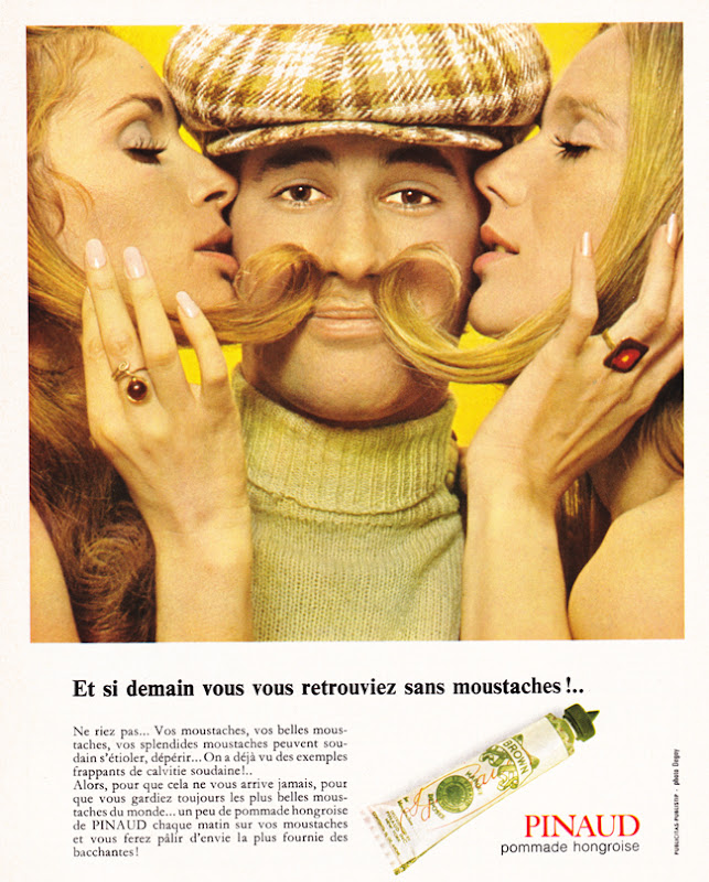 Publicité vintage : Et si demain vous vous retrouviez sans moustaches ! - Pour vous Madame, pour vous Monsieur, des publicités, illustrations et rédactionnels choisis avec amour dans des publications des années 50, 60 et 70. Popcards Factory vous offre des divertissements de qualité. Vous pouvez également nous retrouver sur www.popcards.fr et www.filmfix.fr   - For you Madame, for you Sir, advertising, illustrations and editorials lovingly selected in publications from the fourties, the sixties and the seventies. Popcards Factory offers quality entertainment. You may also find us on www.popcards.fr and www.filmfix.fr