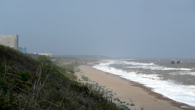 Stormy seas at Sizewell