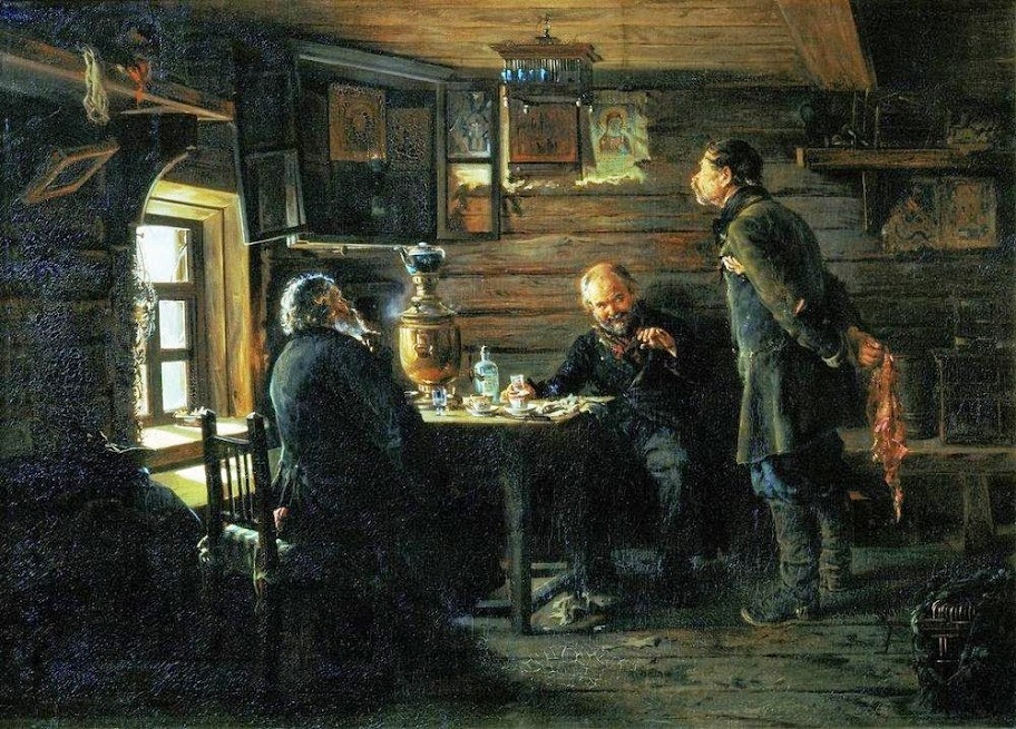 Vladimir Makovsky - Fans of nightingales