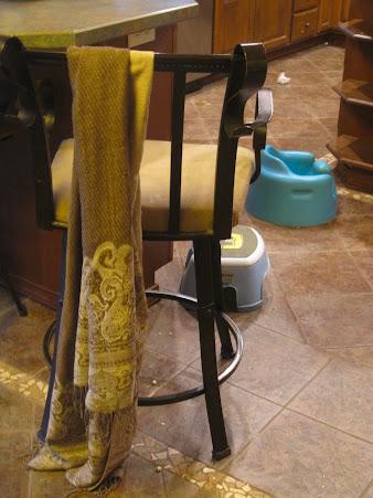 hidden art of homemaking clothes strewn
