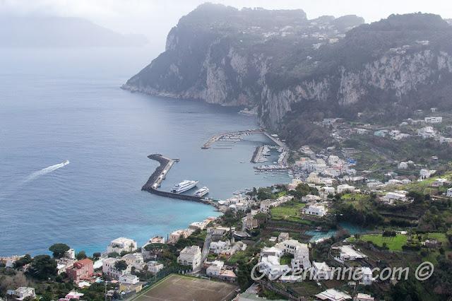 Capri Adası, Marina Grande, İtalya