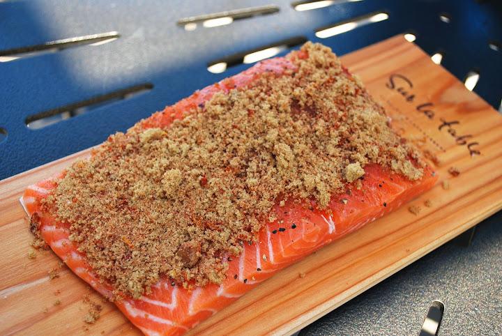 美國老爸這樣烤:西洋杉烤鮭魚 Cedar Plank Salmon