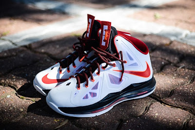 nike lebron 10 gr miami heat home 4 01 Nike LeBron X HOME Arriving at Retailers   New Images