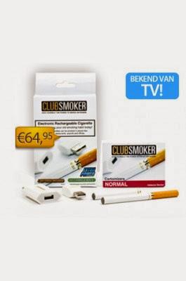Oplaadbare elektronische sigaret van SupersmokerClub