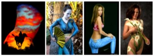 body painting design