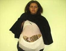 جزائرية حامل بـ6 كلجم من المخدرات
