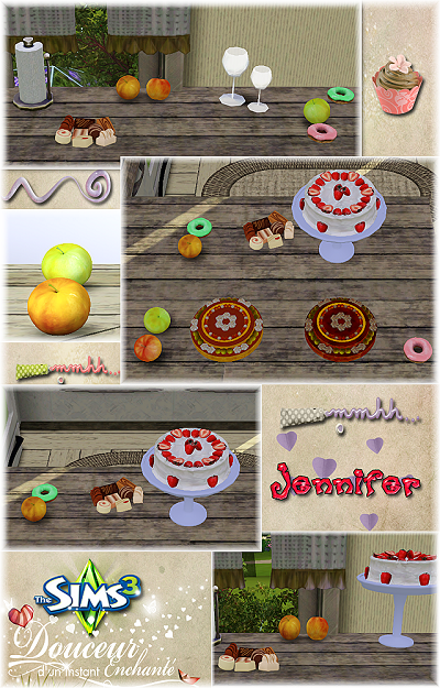 My sims 3 blog new kitchen decor by jennifer for Sims 3 kitchen designs