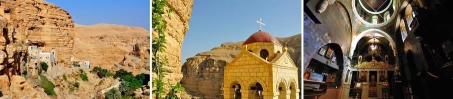 Иудейская пустыня, ущелье Вади Кельт ( нахальПрат) , монастырь святого Георгия Хозевита. Построен на месте пещеры Пророка Ильи. Экскурсии в Израиле. Гид в Израиле Светлана Фиалкова.