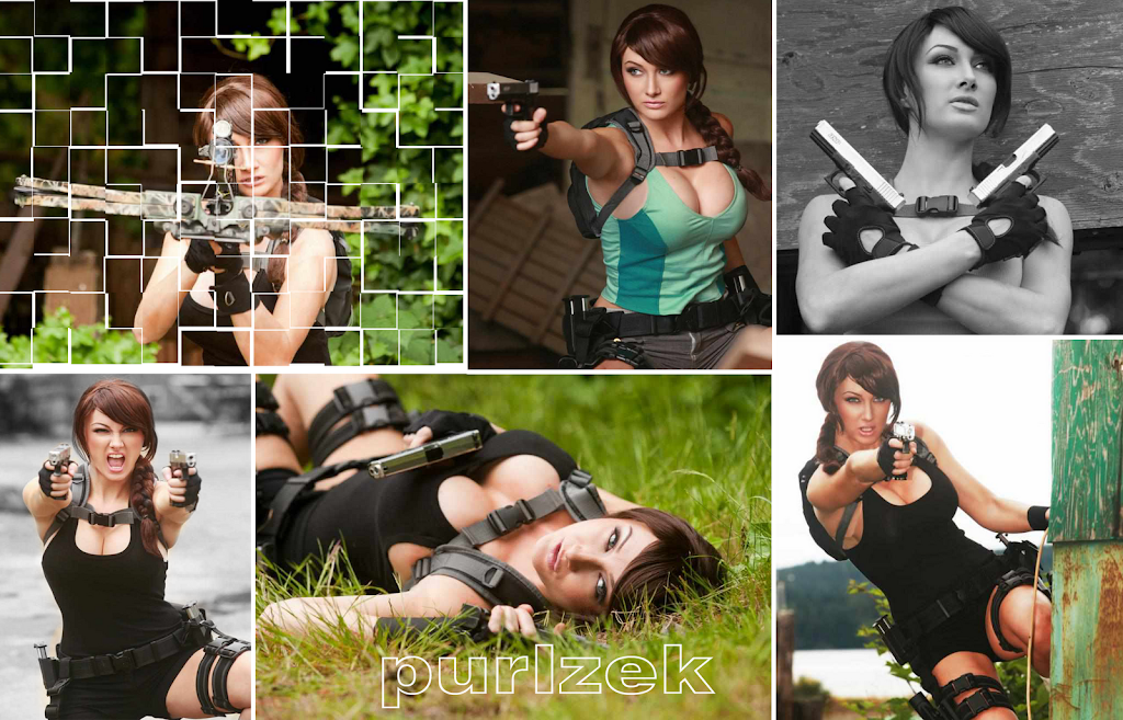 Lara Croft Cosplay 2000x1283
