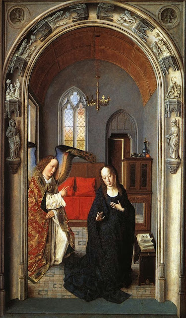 Dieric Bouts - The Annunciation