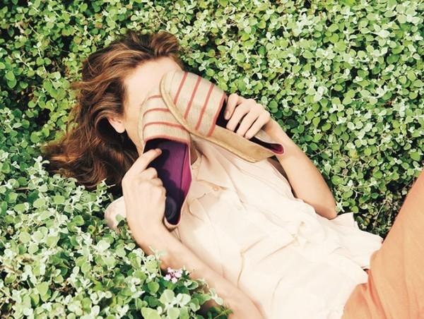 Muôn kiểu giày đế xuồng đẹo cho hè 2013