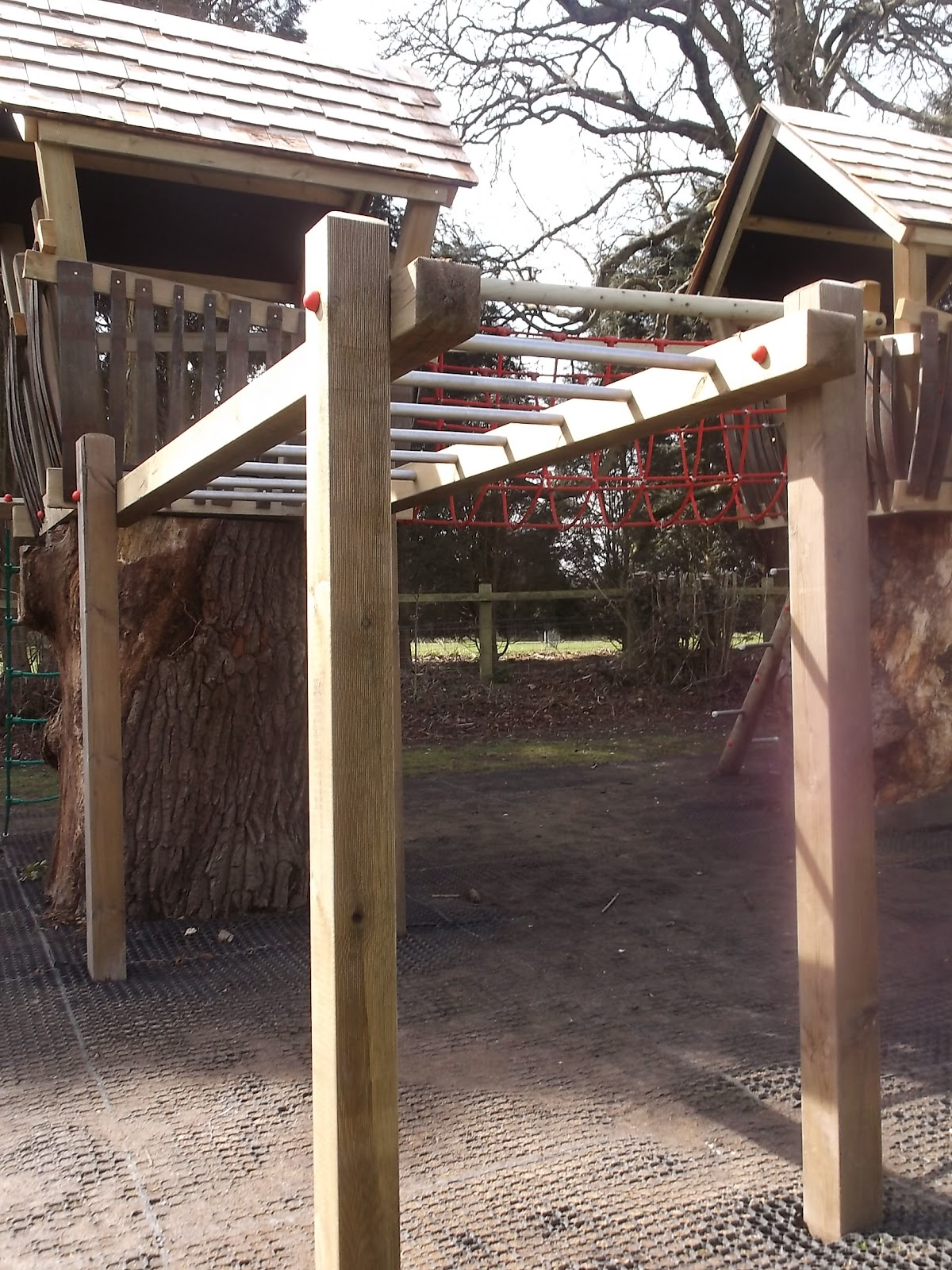 Wooden Playground Equipment Enchanted Creations