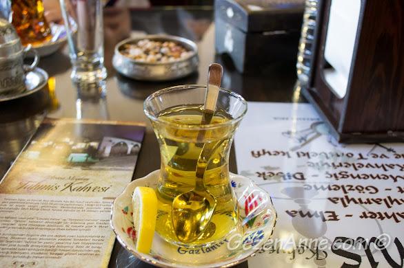 zahter çayı, Tahmis kahvesi Gaziantep