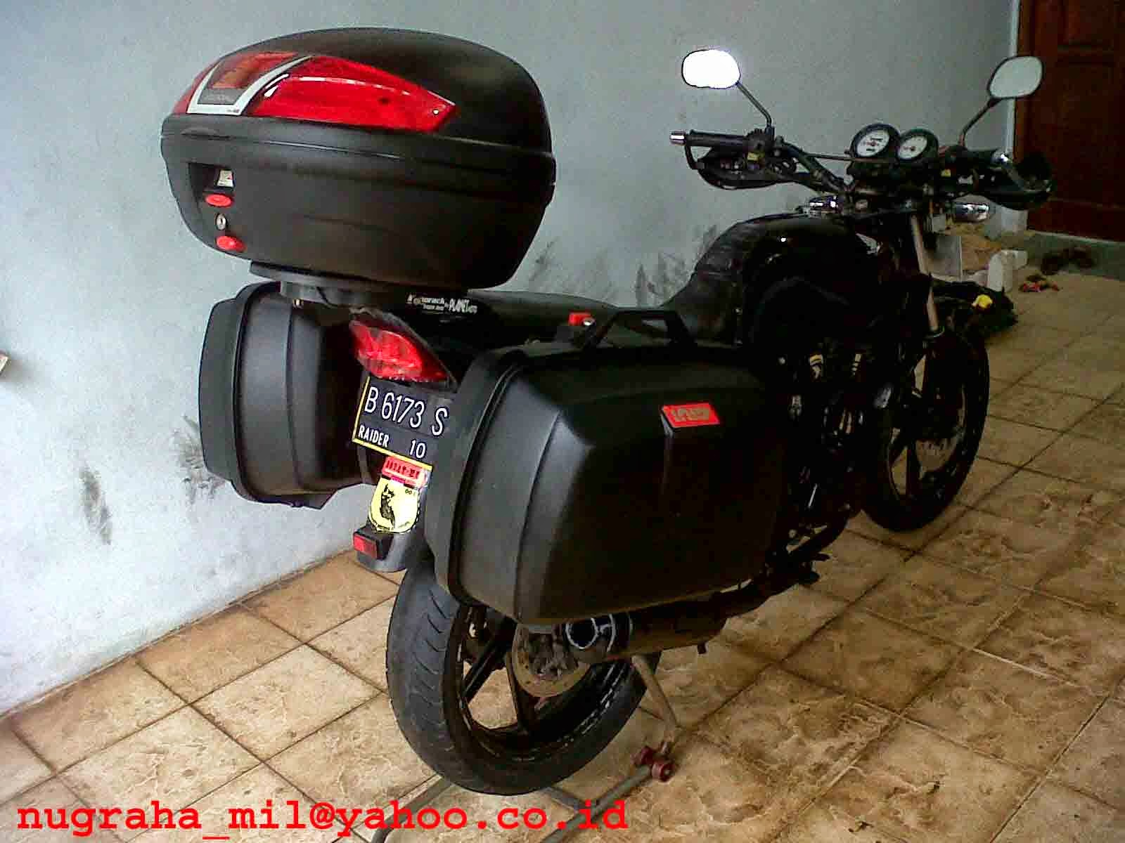 Modifikasi Motor Honda Tiger Touring