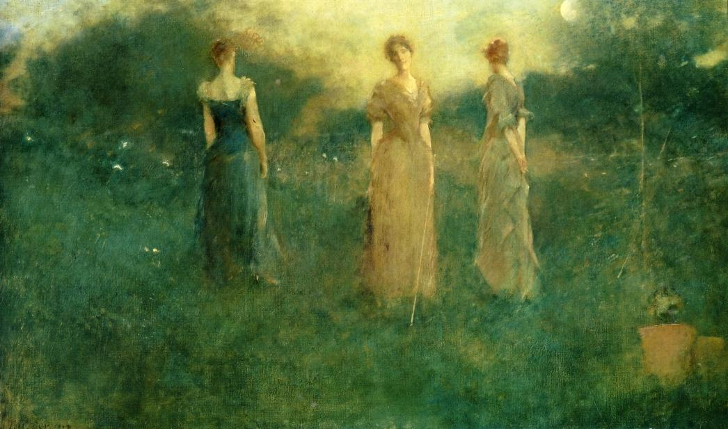 Thomas Dewing - In the Garden