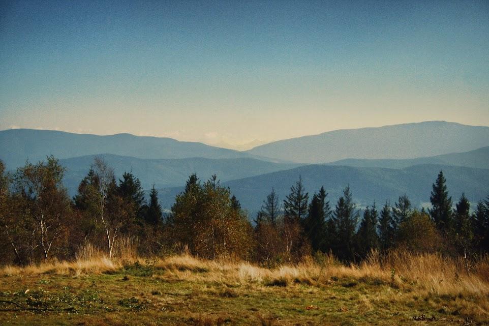 Widok z Leskowca na Tatry