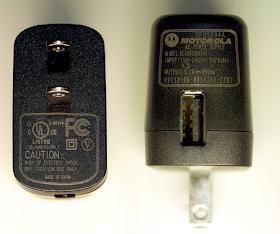 Motorola phone charger
