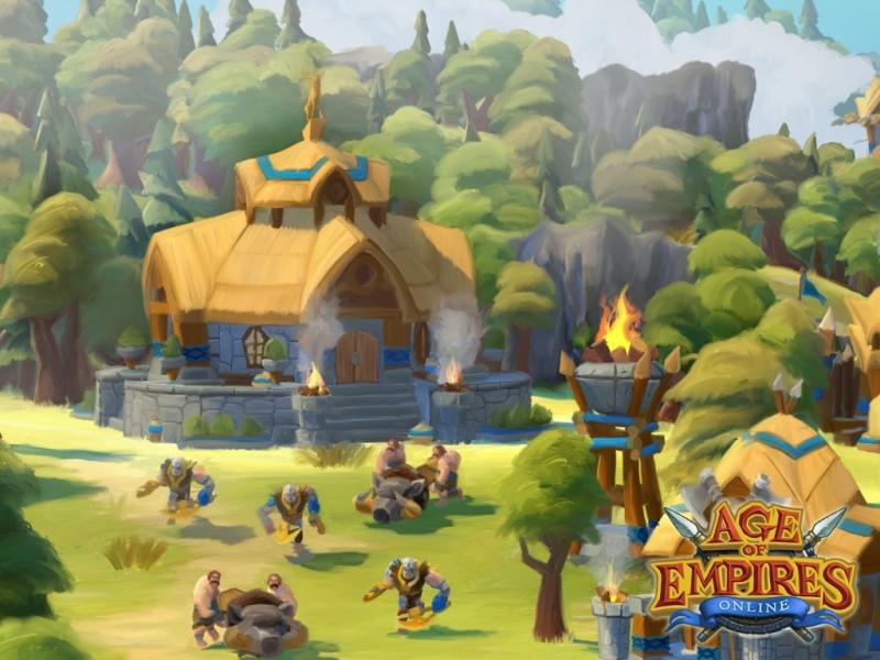Trọn bộ hình nền của Age of Empires Online - Ảnh 5