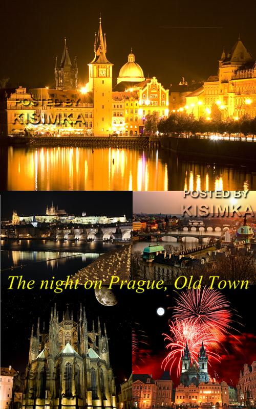 The night on Prague, Old Town