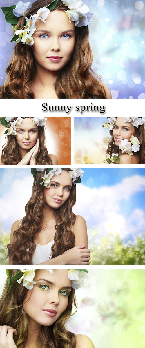 Stock Photo: Sunny spring