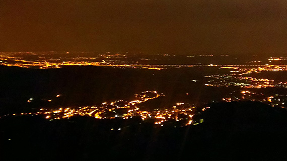 Así fue nuestra ruta nocturna de Segovia a Madrid. Julio 2013