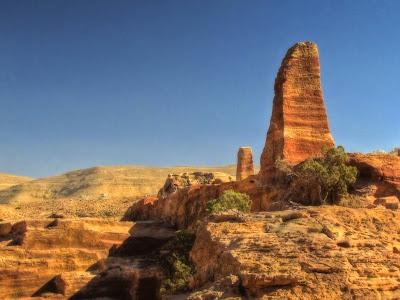 Áreas de Sacrifício em Petra