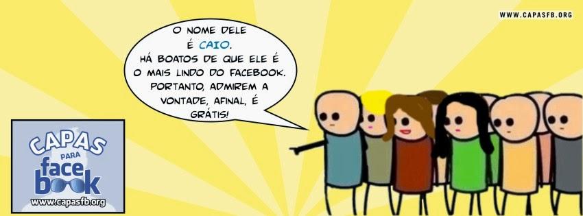 Capas para Facebook Caio