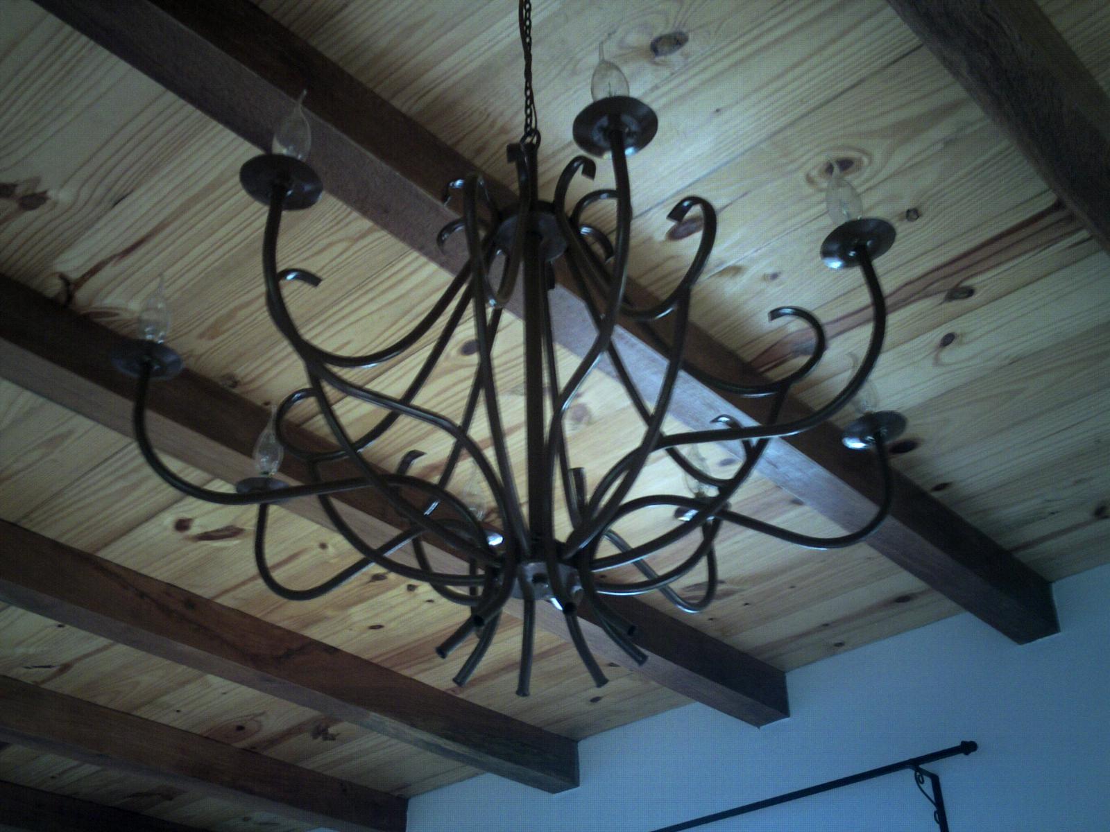 Artesanias en hierro de todo en hierro forjado - Tipos de lamparas de techo ...