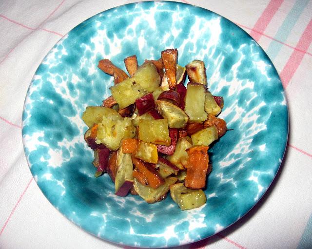 Sweet Potatoes Italian Style