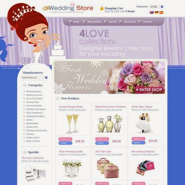 Wedding Shop osCommerce #26775