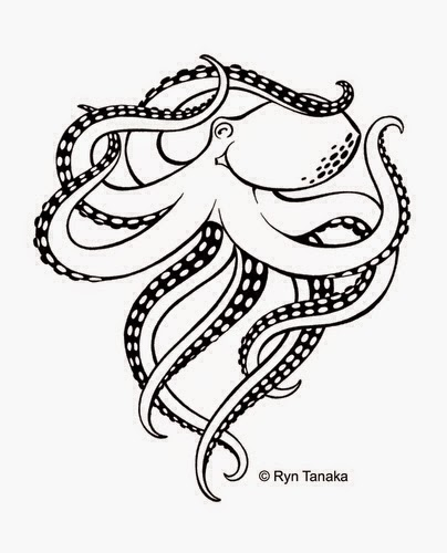Designs by ryn march sales and news for Octopus drawing easy