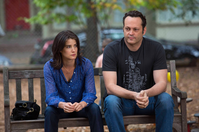 Vince Vaughn and Cobie Smulders in Delivery Man #DeliveryManEvent