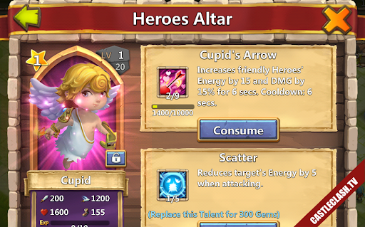Pumpkin and Cupid Level 1 - Over 349.000 HB
