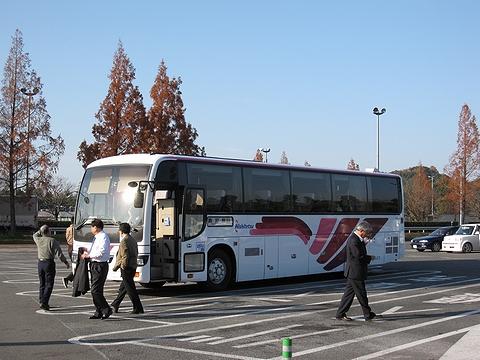 西日本鉄道「桜島号」 宮原SAにて