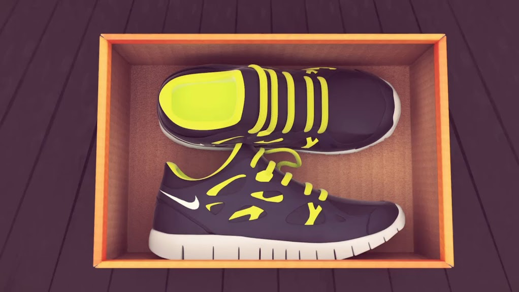 *Nike Grind跑鞋回收循環:趣味動畫短片! 1