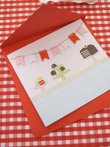 Tracy Chou made this card for Shae, who loves to bake!