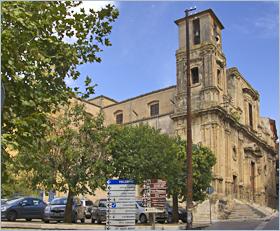 Sizilien - Corleone - Die Kirche San Domenico, das bedeutenste Barockgebäude von Corleone