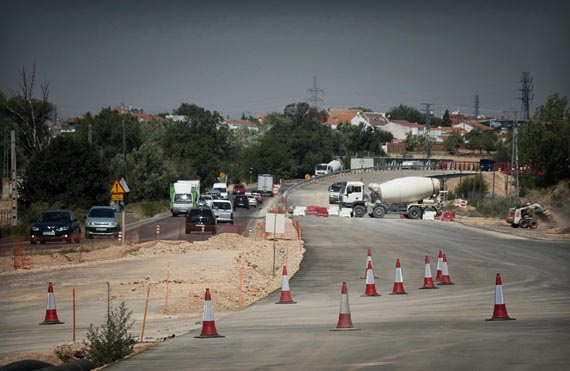 En otoño finalizarán las obras de duplicación de la carretera M-206