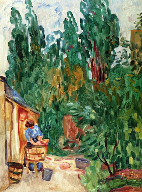 Louis Valtat - Woman with Tub