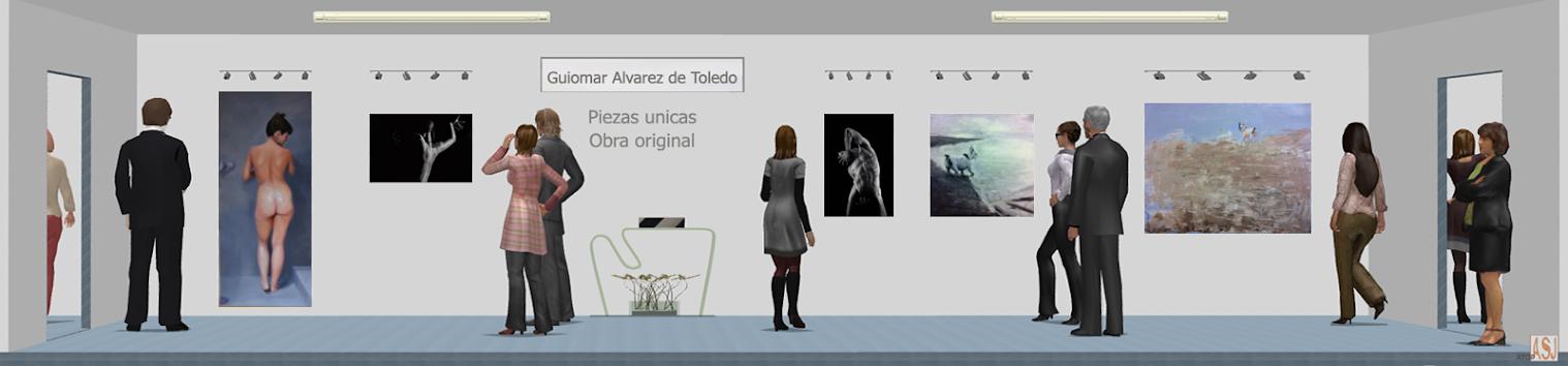 Sala de exposición virtual de Pinturas de Guiomar Álvarez de Toledo