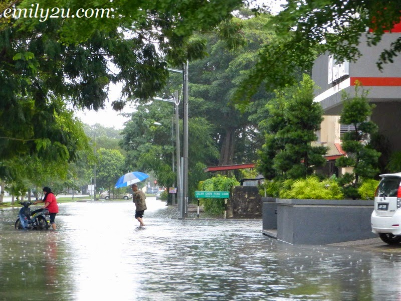 flash floods in Ipoh