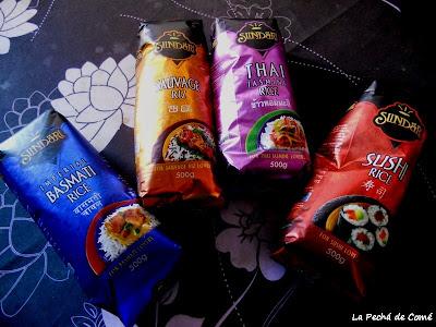 Sundari: Arroz Basmati, Sushi, Thai y Salvaje