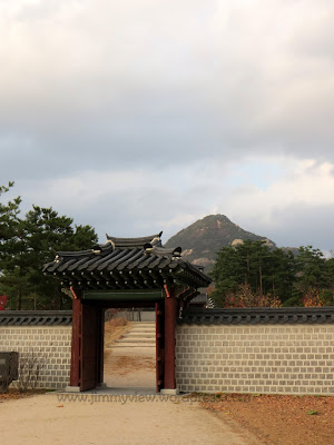 The back gate towards the mountain, thereby completing the Fengshui formation of water in front, mountain at the back.