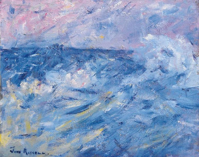 John Peter Russell - Stormy Sky and Sea