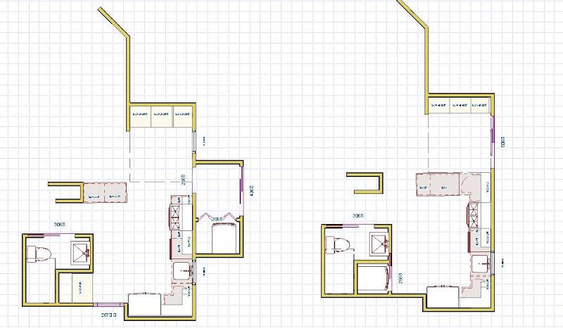Need advice regarding new kitchenbath floorplan laundry