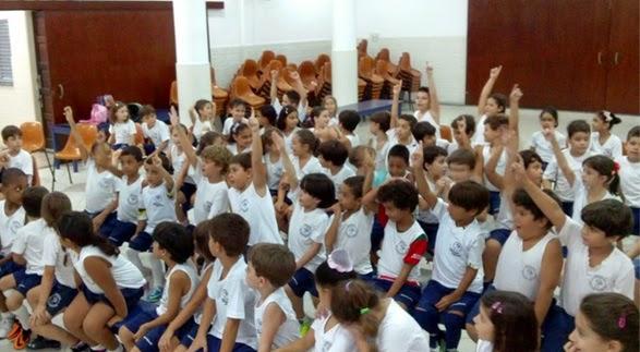 Dia da Poesia – Infantil ao 5º ano (vespertino) – Unidade I – 2014