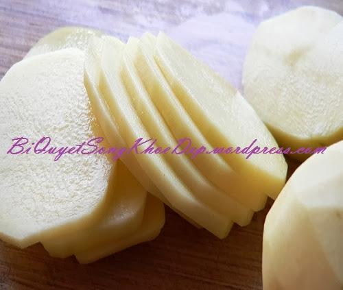 Chăm sóc da bằng khoai tây được chị em tin dùng