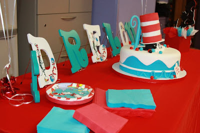 Cat in the Hat Birthday Cakes